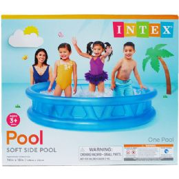 3 Units of SOFT SIDE POOL IN COLOR BOX - Summer Toys