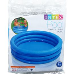 12 Units of CRYSTAL BLUE POOL - Summer Toys