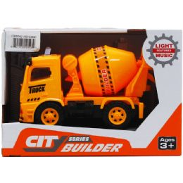 24 Units of Construction Truck With Light And Sound - Cars, Planes, Trains & Bikes