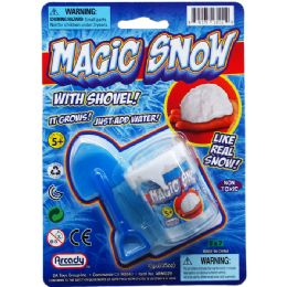 72 Units of MAGIC SNOW SET - Magic & Joke Toys