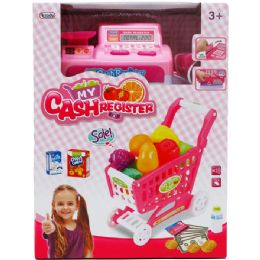 6 Units of CASH REGISTER WITH CART - Girls Toys