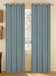 24 Units of YORK BLACKOUT WINDOW PANELS IN BLUE - Home Decor