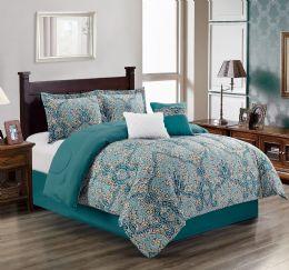 4 Units of SANSA QUEEN SIZE COMFORTER SET - Comforters & Bed Sets