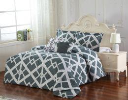 4 Units of DANAKO 5 PIECE COMFORTER SET QUEEN SIZE - Comforters & Bed Sets