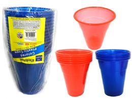 48 Units of 15pc Plastic Tumbler Cups - Plastic Drinkware