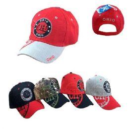 36 Units of Ohio Shadow Base Ball Cap - Baseball Caps & Snap Backs