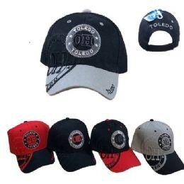 36 Units of Toledo Shadow Base Ball Cap - Baseball Caps & Snap Backs