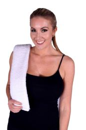 36 Units of WHITE COLORED HAND TOWEL - Towels