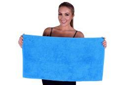 36 Units of AQUA COLORED HAND TOWEL - Towels