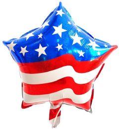 50 Units of USA FLAG FLYING BALLOON - Balloons & Balloon Holder