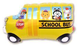 50 Units of SCHOOL BUS FLYING BALLOON - Balloons & Balloon Holder
