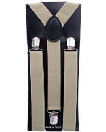 12 Units of GREY COLORED SUSPENDERS - Suspenders