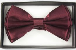 36 Units of BOWTIE BURGUNDY - Neckties