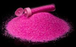 48 Units of Hot Pink Colored Sand - Arts & Crafts