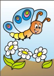 10 Units of Medium Happy Butterfly Sand Painting Card - Arts & Crafts
