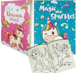 24 Units of Unicorn Coloring Books - Coloring & Activity Books