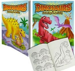 24 Units of Dinosaur Coloring And Activity Books - Coloring & Activity Books