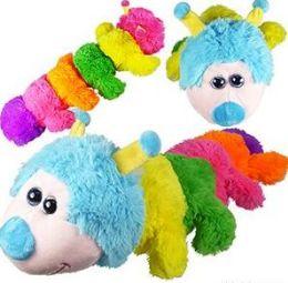 24 Units of Plush Caterpillars - Plush Toys