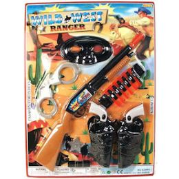 24 Units of 16 Piece Wild West Play Sets - Toy Weapons