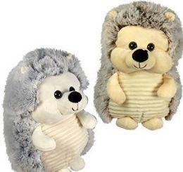 12 Units of Plush Chubby Hedgehogs - Plush Toys