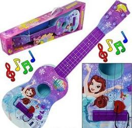 12 Units of Battery Operated Country Music Guitars - Light Up Toys