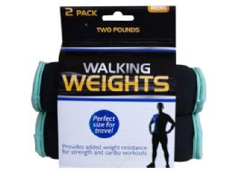 9 Units of 2 Pack 2 Pound Walking Weights - Fitness and Athletics
