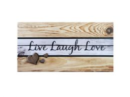 12 Units of Wooden Home Sweet Home Wall Art - Home Decor