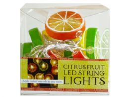 18 Units of Decorative Citrus Fruit String Lights - Lightbulbs