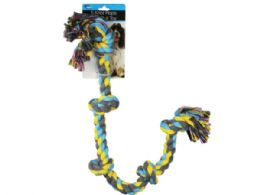 12 Units of 5 Knot Rope Dog Pull Toy - Pet Toys