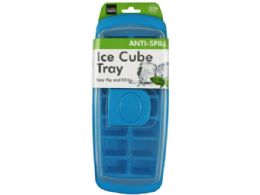36 Units of Ice Cube Tray with Cover - Freezer Items