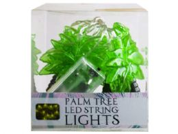 18 Units of Decorative Palm Tree String Lights - Lightbulbs