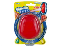 72 Units of Dots Sticky Throw Toy - Slime & Squishees