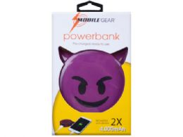 12 Units of 4000 Mah Devil Emoticon Powerbank With Charging Cable - Chargers & Adapters