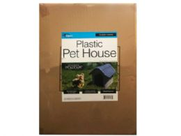 3 Units of Deluxe Plastic Pet House - Pet Accessories