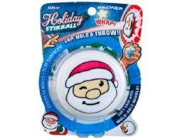 72 Units of Santa Sticky Throw Toy - Slime & Squishees
