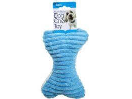 36 Units of Plush Bone Dog Chew Pet Toy - Pet Toys