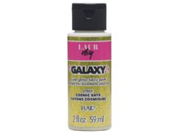 144 Units of 2 Oz Glitter Fabric Paint in Cosmic Rays Yellow - Paint, Brushes & Finger Paint