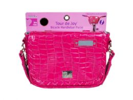 36 Units of Tour De Joy Hot Pink Handlebar Purse - Girls Toys
