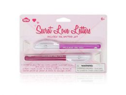 72 Units of Secret Love Letter Invisible Ink Writing Set - Girls Toys