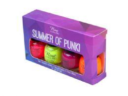 36 Units of Summer of Punki Nail Polish Mini Kit - Manicure and Pedicure Items