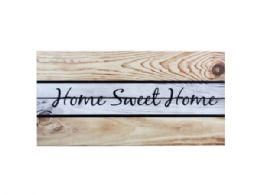 18 Units of Wooden Home Sweet Home Wall Art - Home Decor