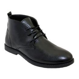 12 Units of Mens Casual Chukka Boot In Black - Men's Footwear