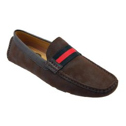 12 Units of Mens Loafer Driver Shoes In Brown - Men's Shoes