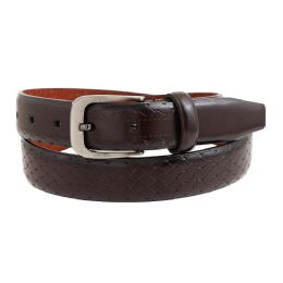 36 Units of Mens Casual Dress Belt In Brown - Mens Belts