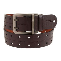 36 Units of Mens Casual Dress Belt In Brown - Mens Belts