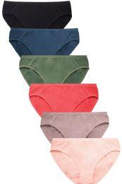 432 Units of SOFRA LADIES SEAMLESS BIKINI PANTY - Womens Panties & Underwear