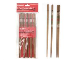 "96 Units of Chopsticks 5pair 8.75"" L - Kitchen Utensils"