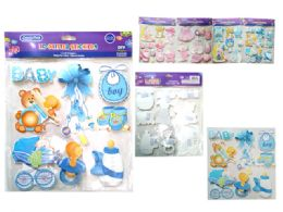 288 Units of It's A Boy/Girl 3D Stickers - Stickers