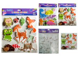 288 Units of Animal 3D Stickers - Stickers