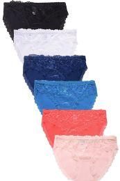 432 Units of MAMIA LADIES COTTON BIKINI PANTY - Womens Panties & Underwear